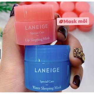 Mặt nạ môi LANEIGE Lip Sleeping Mask - Mặt nạ ngủ ủ môi LANEIGE mini dưỡng môi 3g