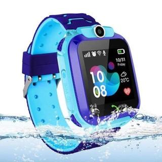 Đồng hồ thông minh chống nước Q12 smart watch cảm ứng lắp sim nghe gọi điện thoại kiểu dáng màu sắc dễ thương cute