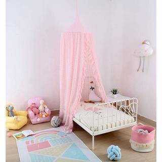 Lều ngủ chống muỗi phối ren xinh xắn cho bé