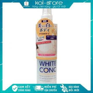 [Xả Kho Hàng Nhật] Lotion xịt dưỡng trắng da White Conc Vitamin C 245ml Nhật Bản