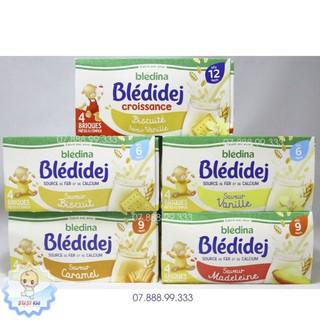 (1 hộp) Sữa nước Bledina Pháp 6th+ (vani bíchqui caramel made vani bích qui) date 2021 thumbnail