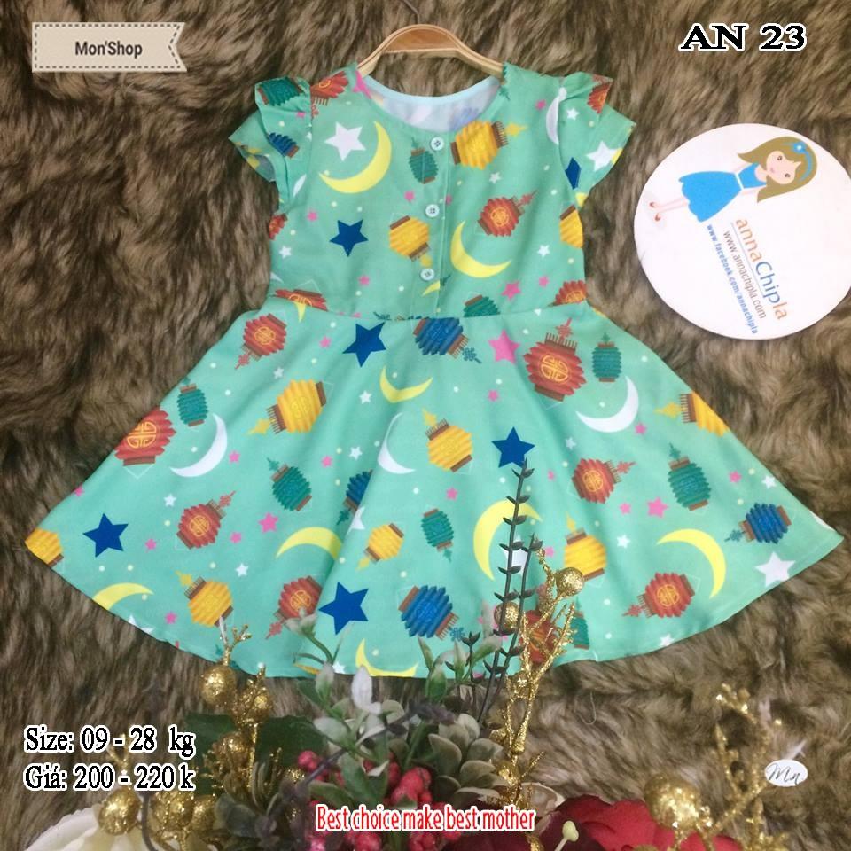 Váy Đầm Dạo Phố Bé Gái