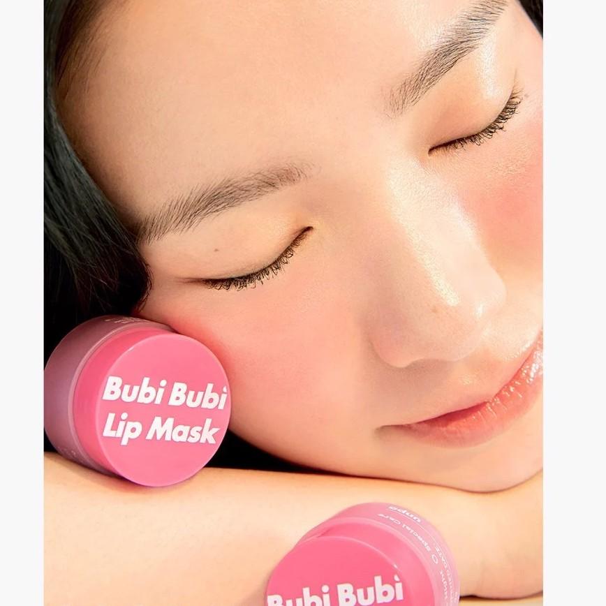 Mặt Nạ Ngủ Môi Unpa Bubi Bubi Lip Mask Black Food Complex 9g chính hãng  145,000đ