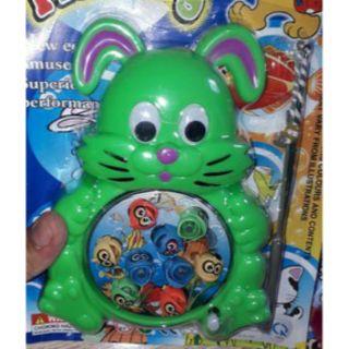 Bộ đồ chơi câu cá mini bằng nhựa lên dây cót
