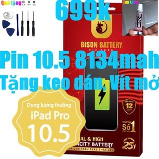 Pin iPads Pro 10.5, Pin iPads A1701 Bison 8134mah bảo hành 12 tháng thumbnail