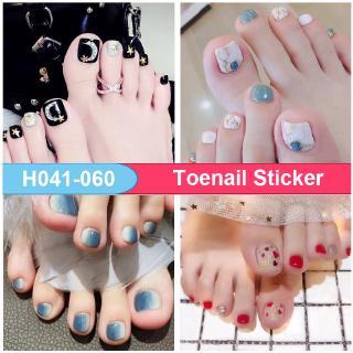 Set 22 nhãn dán móng chân H041-060 3D DIY thumbnail