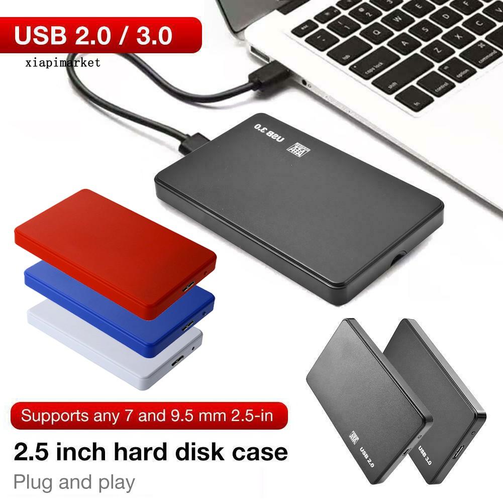 Vỏ Ổ Cứng Di Động USB 3.0 / 2.0 2.5inch SATA HDD SSD Cho Laptop