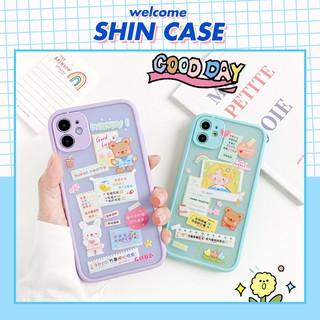 Ốp lưng iphone - Ốp iphone Sticker Happy BVC 5 5s 6 6plus 6s 6splus 7 7plus 8 8plus x xr xs 11 12 pro max plus promax thumbnail