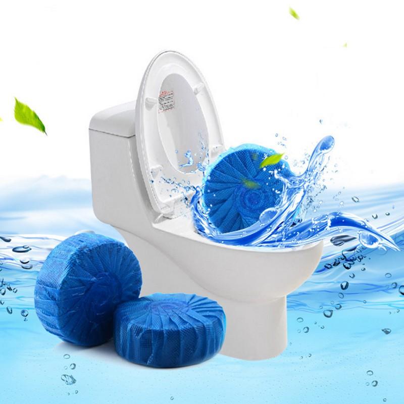 Gói 10 viên tẩy bồn cầu khử mùi diệt khuẩn
