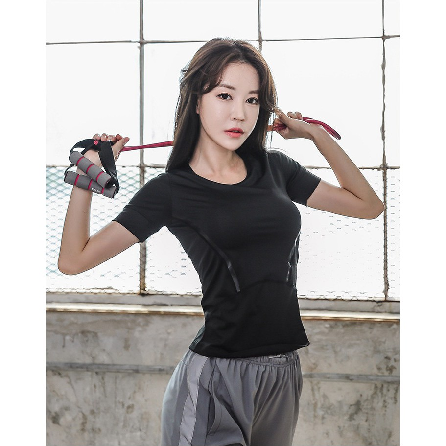 áo thể thao nữ cao cấp tập gym yoga siêu thấm hút mồ hôi hàng nhập khẩu mẫu mới nhất 2020