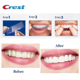 Miếng dán trắng răng ❤ FREESHIP ❤ Miếng dán Crest 3D White Whitestrips [Hàng Mỹ] – trắng răng Crest 3D Wh