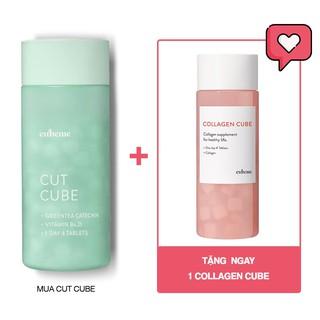 [CUBEME Cut Cube] Viên Uống Giảm Cân 224 Viên Size Lớn (4 viên x 56 ngày) - CHÍNH HÃNG TẠI HOA XINH thumbnail