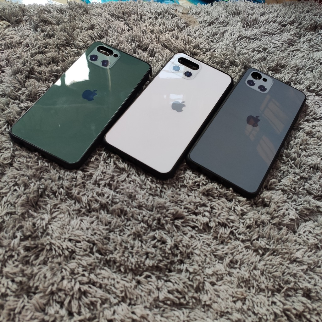 Ốp lưng giả iphone 11 cho Oppo A3S/F3/F5/F7/F9/A5S/A1K/A83/Realme C1/C2