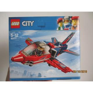 LEGO Máy Bay Biểu Diễn Trên Không -LEGO City 60177 (87 Chi Tiết)