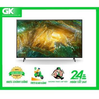 55X8050H - MIỄN PHÍ CÔNG LẮP ĐẶT - Android Tivi Sony 4K 55 Inch KD-55X8050H thumbnail