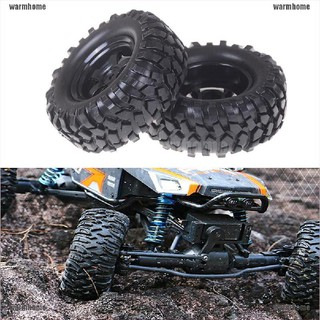 warmhome 2pcs/lot 1.9″ Tires 96mm Wheel 12mm Hex Hub For RC 1:10 Rock Climbing Crawler thro