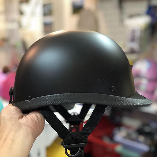 Mũ bảo hiểm đua ngựa vỏ sò 1/2 đầu nhẹ nhàng, phong cách