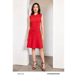 Đầm len đỏ đính thiết kế Elise thumbnail