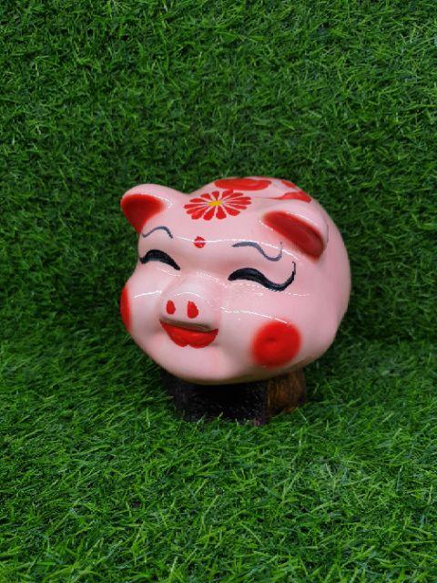 [XẢ HÀNG GIÁ GỐC] Heo đất, heo sứ, lợn đất tiết kiệm cỡ trung. Heo sứ tiết kiệm Bát tràng....