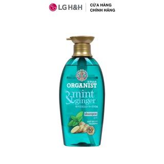 Dầu gội nuôi dưỡng tóc Organist dành cho tóc và da đầu gàu Gừng và Bạc Hà 500ml thumbnail