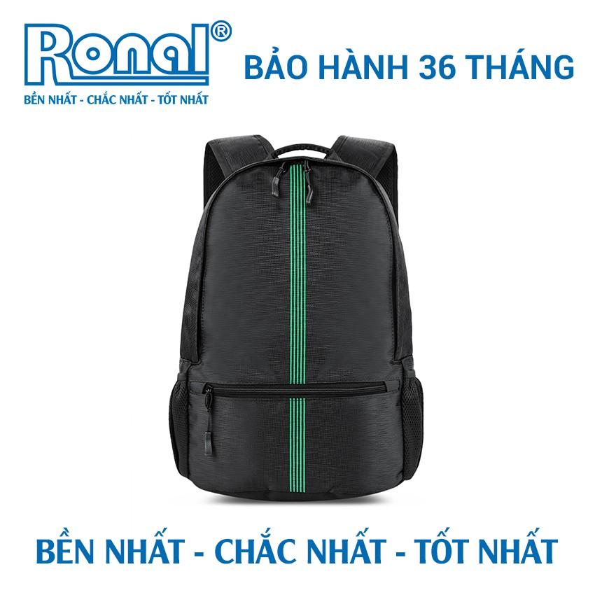 Ba lô Ronal BL83 - Đen in xanh lá