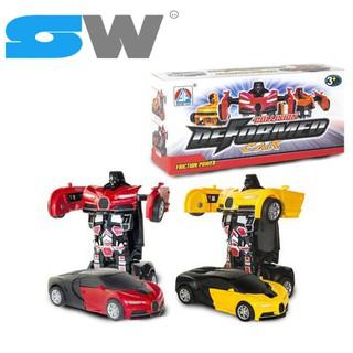 [SW] Siêu Xe Tự Động Biến Hình Robot Dành Cho Bé