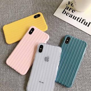 Ốp lưng silicon mềm màu trơn cho điện thoại iPhone XS MAX XR X 8 7 Plus 6s 6 Plus
