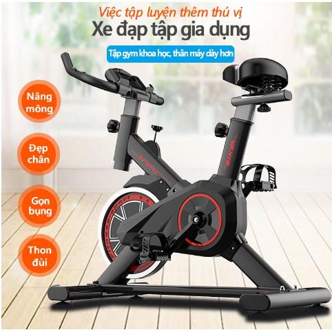Xe đạp tập thể dục tại nhà, xe đạp thể thao gym toshiko sport