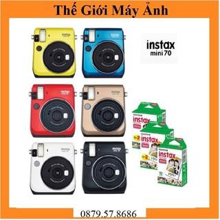 Máy ảnh Fujifilm Instax Mini 70 các màu + 10 tấm Film Instax mini