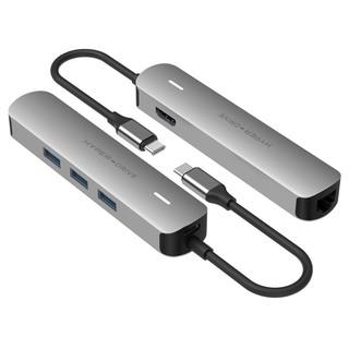 Cổng chuyển USB-C 6 trong 1 Hyperdrive cho MacBook và thiết bị khác - HD233B