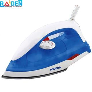 Bàn ủi 1000W Povena PVN-9210 mặt đế phủ chống dính, tự điều chỉnh công suất điện thumbnail