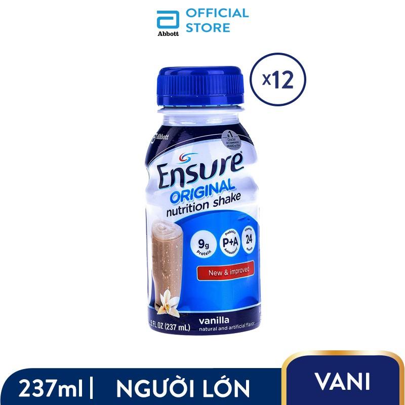 Bộ 02 Lốc 6 chai Sữa nước Ensure 237ml