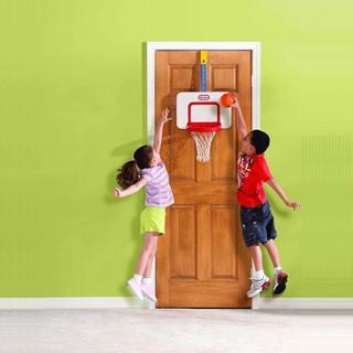 Bộ bóng rổ Little Tikes cho bé. Bộ bóng rổ đồ chơi tăng chiều cao cho bé