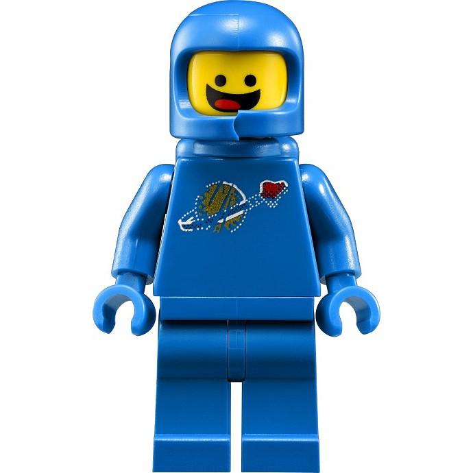 LEGO Minifigures Benny – LEGO Phi Hành Gia Vũ Trụ Màu Xanh Benny