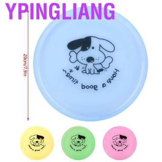 Ypingliang Dog Disc Training Toys Flying Discs Flyer Plastic Pets Outdoor for Puppies
