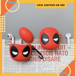 Case Airpods – Ốp Airpods 1/2 Deadpool