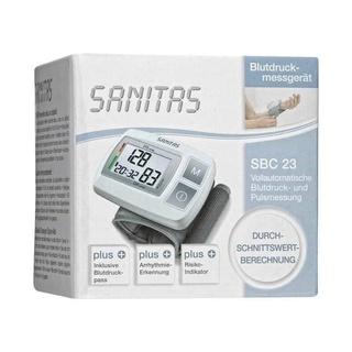 Máy đo huyết áp cổ tay SANITAS SBC 23 - nội địa Đức thumbnail