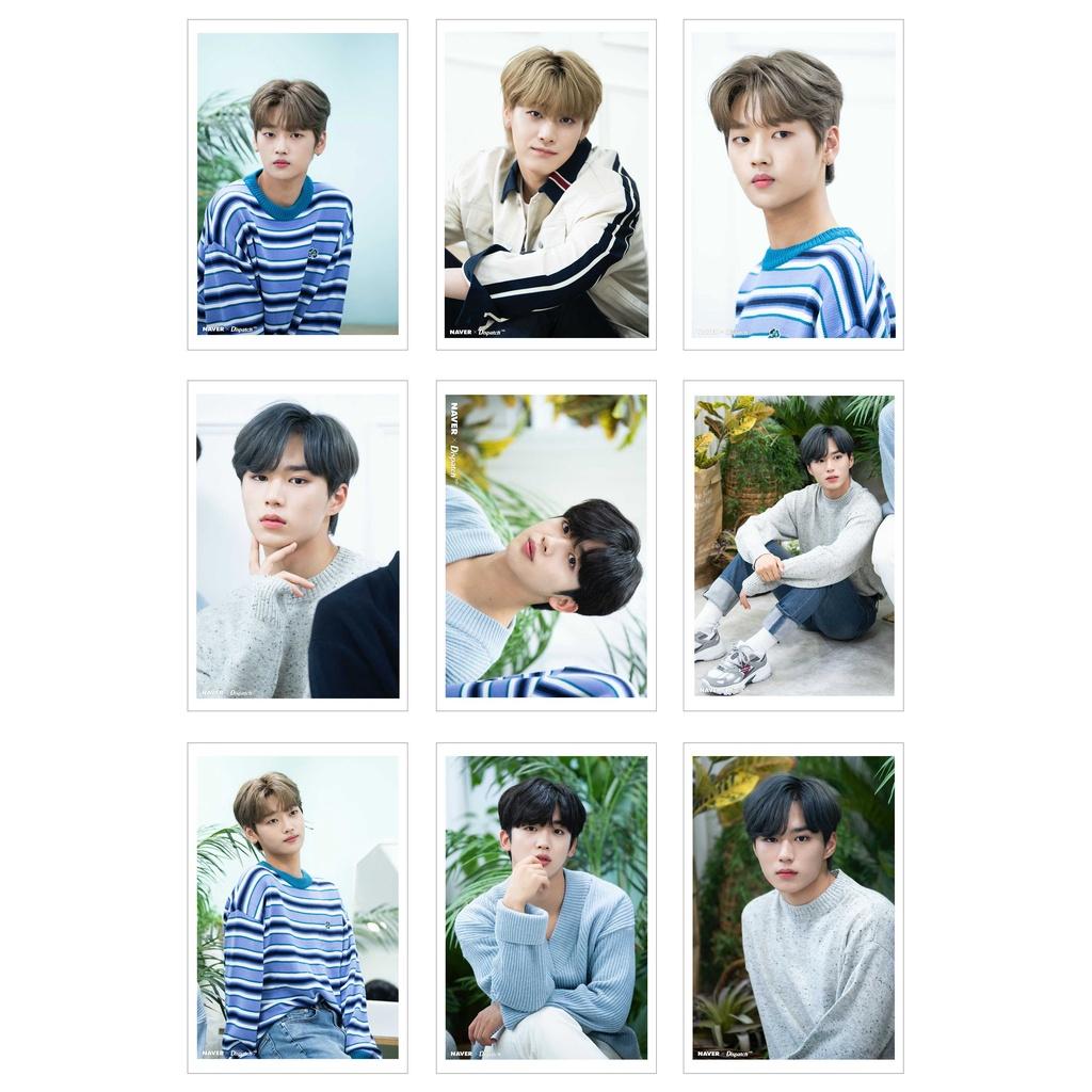[Ép Lụa] Lomo Card 27 Ảnh WEI - Naver x Dispatch