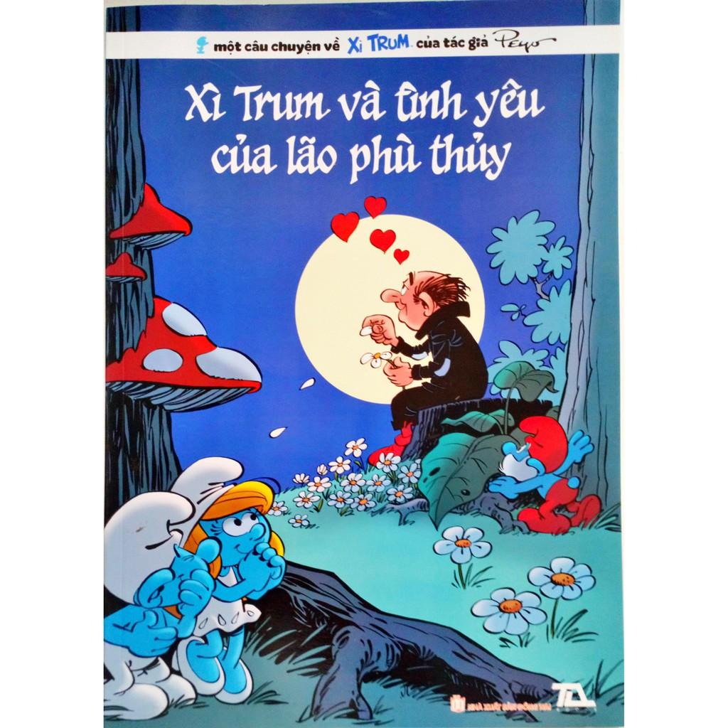Truyện tranh - Xì Trum tập 32 - Xì trum và tình yêu của lão phù thủy ↘↘↘  Giảm 65%
