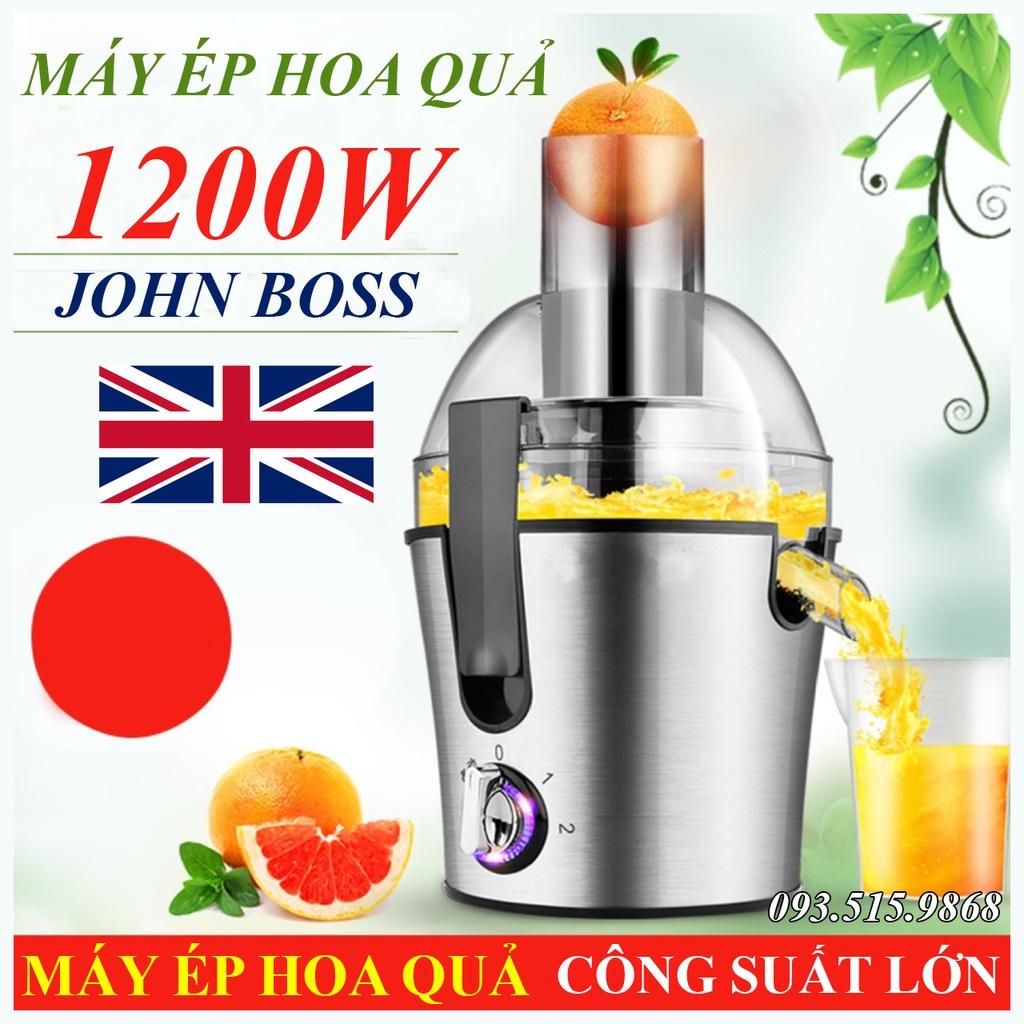Máy ép trái cây hoa quả Cao Cấp Công Suất Lớn 1200W - Ép Hoa Quả, Ép Rau Củ Chuyên Nghiệp