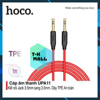 Cáp Audio AUX dây dù jack 3.5mm Hoco UPA11, dây dài 1m
