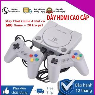 Máy Chơi Game Điện Tử Cầm Tay Playstation HDMI Cao Cấp - Tích Hợp Sẵn 600 Game thumbnail