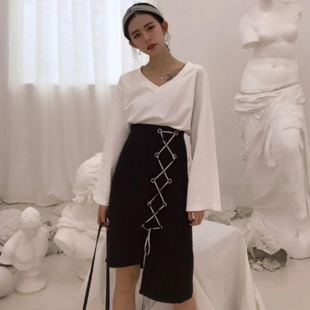 Hàng đặt trước chân váy đen dáng dài vạt chéo dây chéi - 2895977 , 799114233 , 322_799114233 , 230000 , Hang-dat-truoc-chan-vay-den-dang-dai-vat-cheo-day-chei-322_799114233 , shopee.vn , Hàng đặt trước chân váy đen dáng dài vạt chéo dây chéi