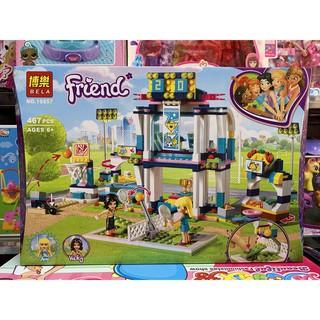 Xếp hình lắp ghép lego BELA Friends 10857