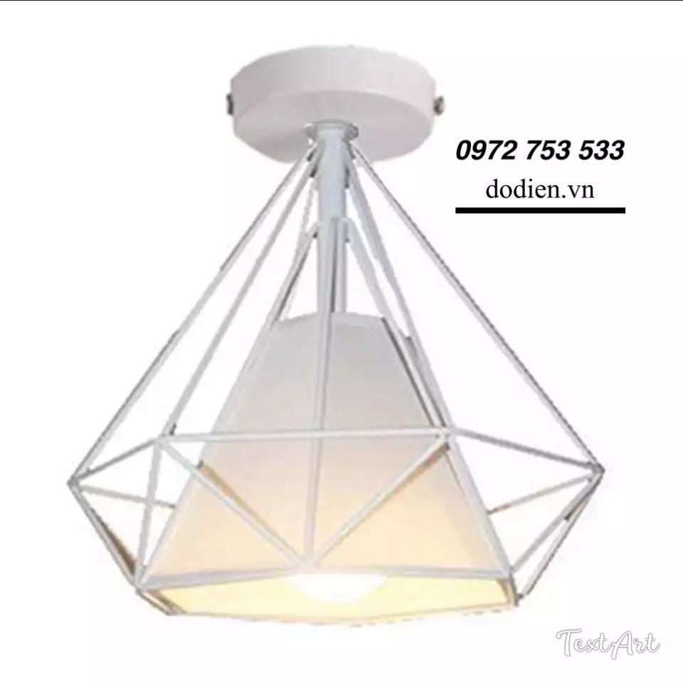 Đèn ốp trần đèn kim cương