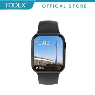 Đồng Hồ Thông Minh TODEX DT100 Nhận Cuộc Gọi Qua Bluetooth Với Chức Năng Chia Đôi Màn Hình Tiện Dụng Cho Nam 2021