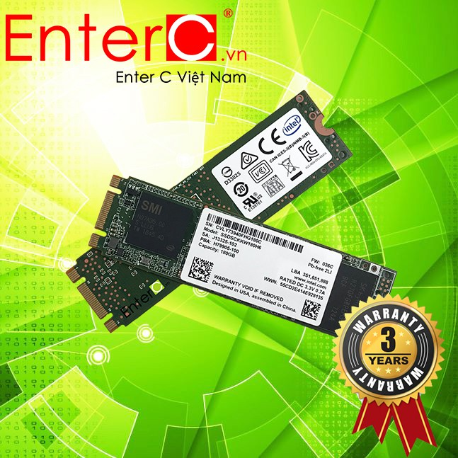 Ổ cứng SSD M2-SATA 180GB Intel 540s 2280 - 180GB