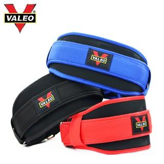 Đai lưng mềm Valeo tập gym, phụ kiện thể thao Chính Hãng