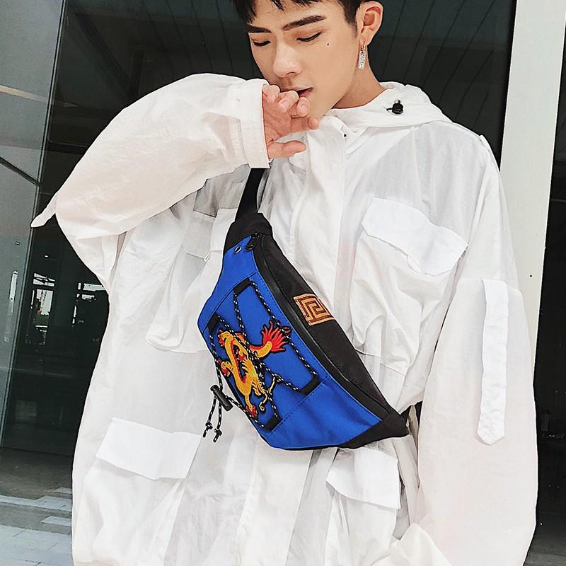 Túi đeo chéo ngực phong cách thể thao năng động