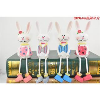 thỏ nhồi bông trang trí đáng yêu